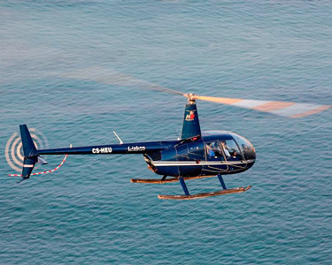 Fantástico Voo de Helicóptero pelos Céus da Capital | 8 Minutos | Lisbon Sky