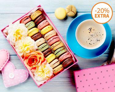 Workshop de Macarons 2 Horas   My Cake Store   1 ou 2 Pessoas