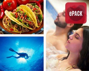 Presente Único   76 Experiências à Escolha entre Spa, Aventura e Gourmet   1 ou 2 Pessoas