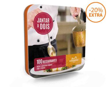 Jantar a Dois | 100 Experiências à escolha