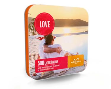 Love | 500 Experiências à escolha