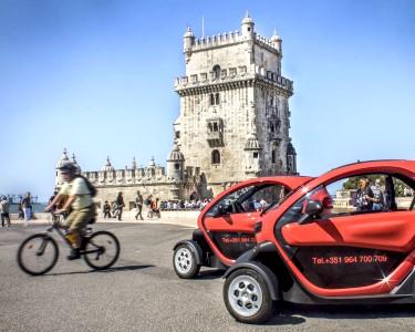 P4D | Lisboa num Twizy Eléctrico || 2 pessoas