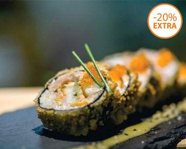 Workshop Sushi & Degustação   1 ou 2 Pessoas - Vários Locais