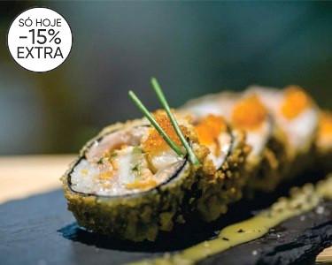 Workshop Sushi & Degustação | 1 ou 2 Pessoas - Vários Locais
