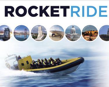 «Rocket Ride» no Tejo para Dois! Emoção a 80km/h! 30 Minutos