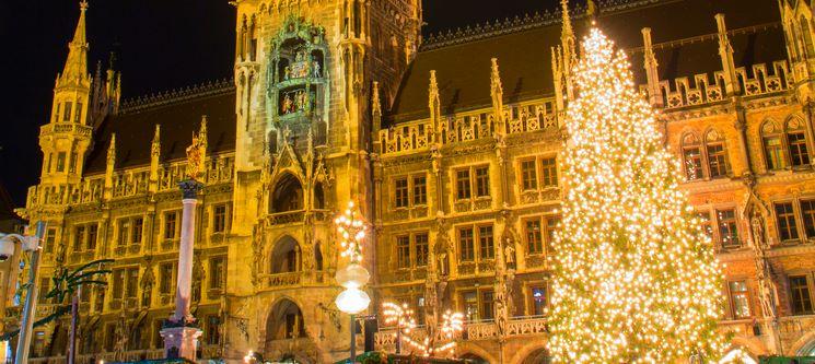 Mercado de Natal   Munique   Voos + 2 Noites