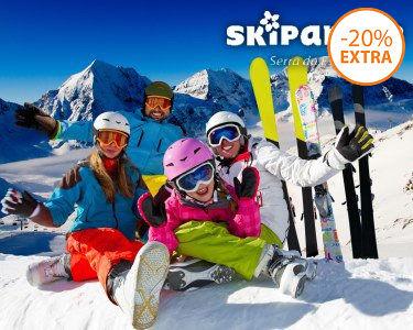 Ski ou Snowboard para Dois no Skiparque! 2h - Serra da Estrela