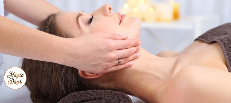Presente Perfeito: Massagem Relax + Mini Facial   50 Minutos   5 Clínicas Sorria