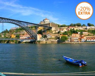 Cruzeiro das 6 Pontes no Douro   50 Minutos - 2 Pessoas   Entre o Porto e Gaia!