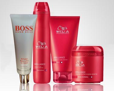 Cabelo e Corpo - Wella & Hugo Boss
