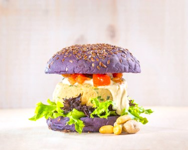 Vegana Burgers Cais do Sodré! Menu Completo c/ Hambúrgueres Vegan para Dois