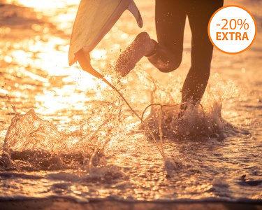 Baptismo de Surf p/ 1 ou 2 Pessoas   Aulas de 1h30   Ribeira D´Ilhas - Ericeira